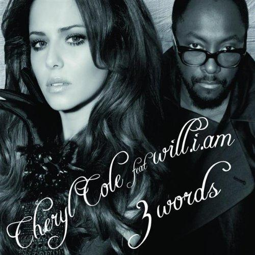 will.i.am, 3 Words (feat. Cheryl), Piano, Vocal & Guitar