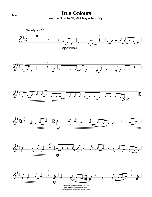Eva Cassidy True Colours Sheet Music Notes Chords Printable Pop