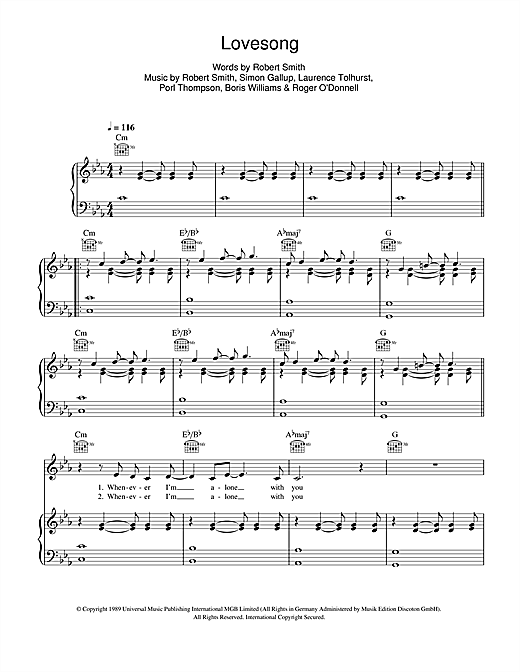 Adele Lovesong Sheet Music Notes Chords Printable Pop Piano