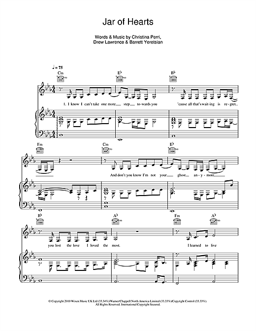 best Jar Of Hearts Piano Chords Sheet Music Free image collection