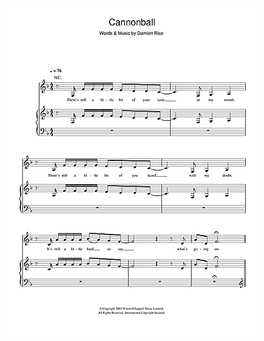 Little Mix Cannonball Sheet Music Notes Chords Printable Pop
