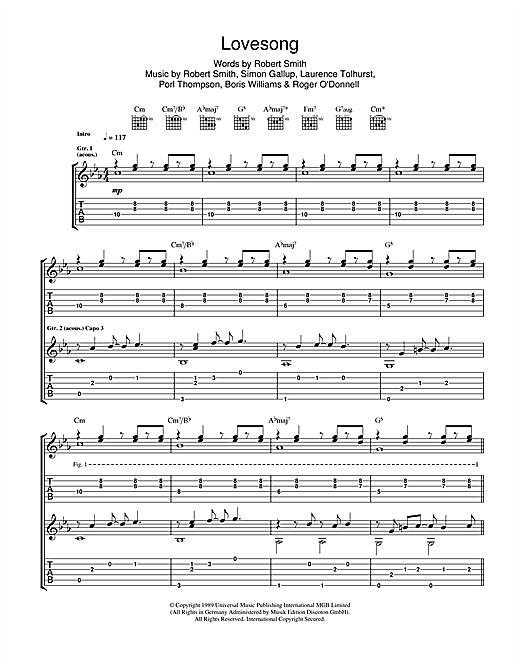 Adele Lovesong Sheet Music Notes Chords Printable Pop Guitar