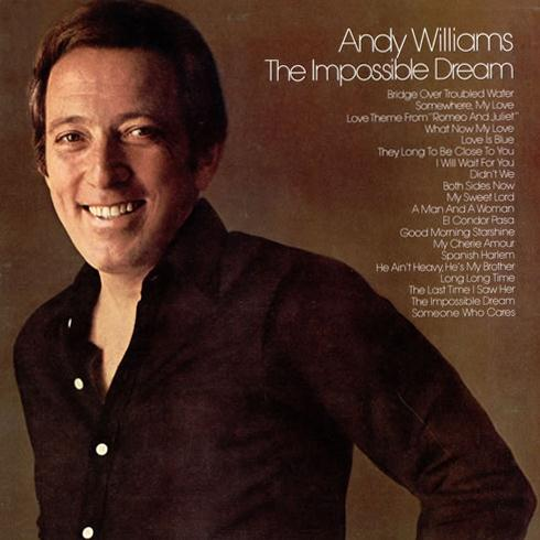 Andy Williams, The Impossible Dream (from Man Of La Mancha), Beginner Piano