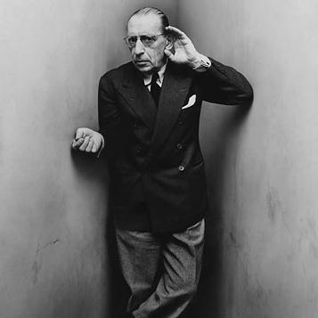 Igor Stravinsky, Larghetto (No. 4 From Les Cinq Doigts), Piano