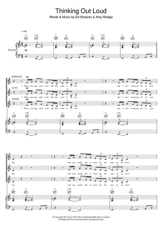 Amazing Piano Chords Ed Sheeran Festooning - Song Chords Images ...