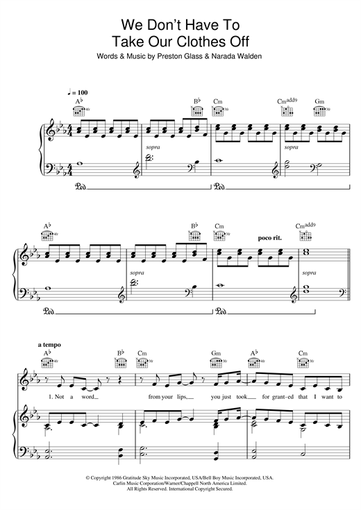 Ella Eyre We Dont Have To Take Our Clothes Off Sheet Music Notes