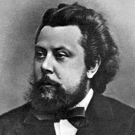 Modest Mussorgsky, Promenade (from Pictures At An Exhibition), Melody Line & Chords