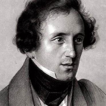 Felix Mendelssohn, On Wings Of Song, Melody Line & Chords