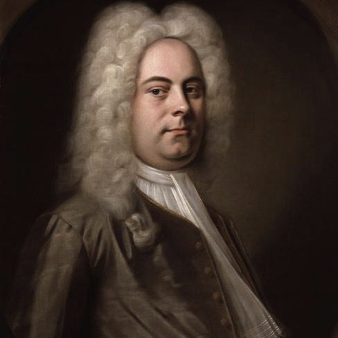 George Frideric Handel, Sarabande (from Harpsichord Suite in D Minor), Melody Line & Chords
