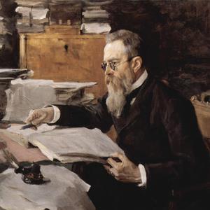 Nikolai Rimsky-Korsakov, Theme from Scheherazade, Melody Line & Chords