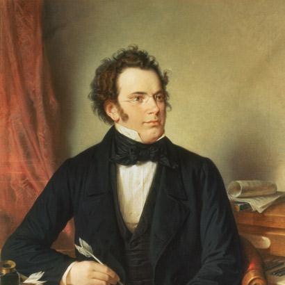 Franz Schubert, Theme From The Trout Quintet (Die Forelle), Melody Line & Chords