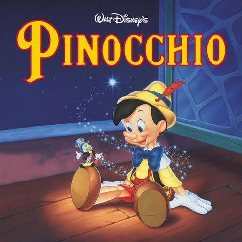 Cliff Edwards, When You Wish Upon A Star (from Disney's Pinocchio), Melody Line, Lyrics & Chords
