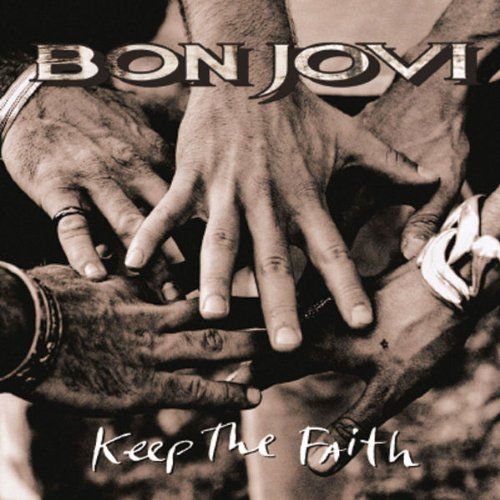 Bon Jovi, Bed Of Roses, Piano, Vocal & Guitar (Right-Hand Melody)