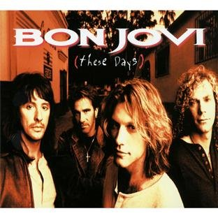Bon Jovi, These Days, Piano, Vocal & Guitar (Right-Hand Melody)