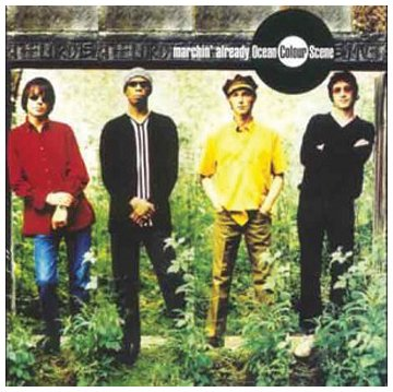 Ocean Colour Scene, Get Blown Away, Piano, Vocal & Guitar (Right-Hand Melody)
