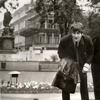 The Beatles, From A Window, Piano, Vocal & Guitar (Right-Hand Melody)