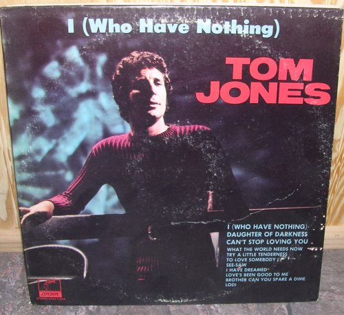 Tom Jones, Daughter Of Darkness, Piano, Vocal & Guitar