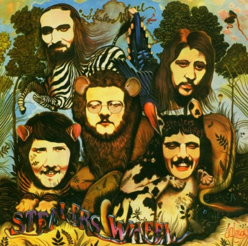Stealers Wheel, Stuck In The Middle With You, Piano, Vocal & Guitar