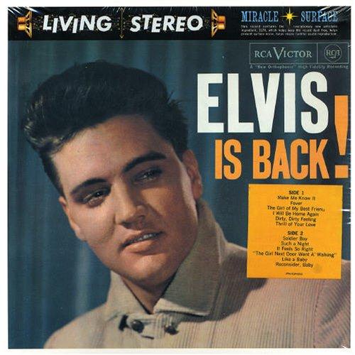 Elvis Presley, Stuck On You, Piano