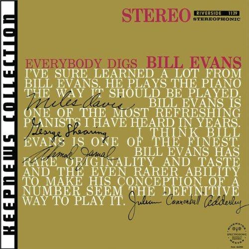 Bill Evans, Epilogue, Piano