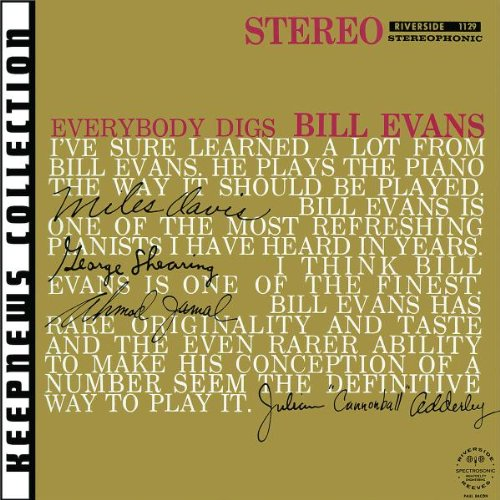 Bill Evans, Minority, Piano