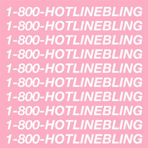 Drake, Hotline Bling, Piano, Vocal & Guitar (Right-Hand Melody)