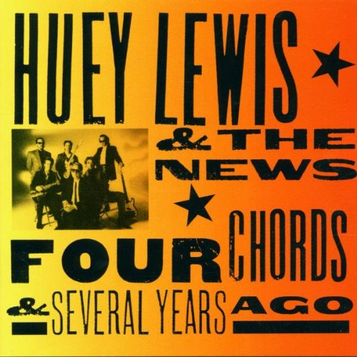 Huey Lewis & The News, But It's Alright, Piano, Vocal & Guitar (Right-Hand Melody)