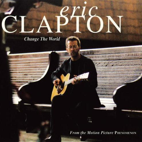Eric Clapton with Wynonna, Change The World, Piano, Vocal & Guitar (Right-Hand Melody)
