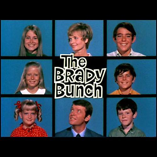 Sherwood Schwartz, The Brady Bunch, Piano, Vocal & Guitar (Right-Hand Melody)