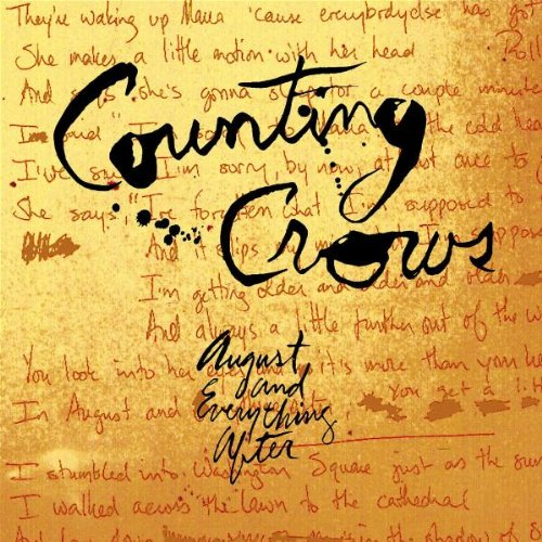 Counting Crows, Mr. Jones, Piano, Vocal & Guitar (Right-Hand Melody)