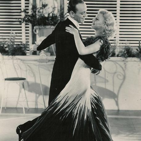 Fred Astaire & Ginger Rogers, The Darktown Strutters' Ball, Piano, Vocal & Guitar (Right-Hand Melody)