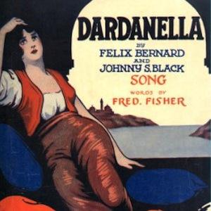 Felix Bernard, Dardanella, Piano, Vocal & Guitar (Right-Hand Melody)