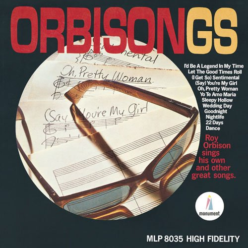 Roy Orbison, Oh, Pretty Woman, Piano, Vocal & Guitar (Right-Hand Melody)