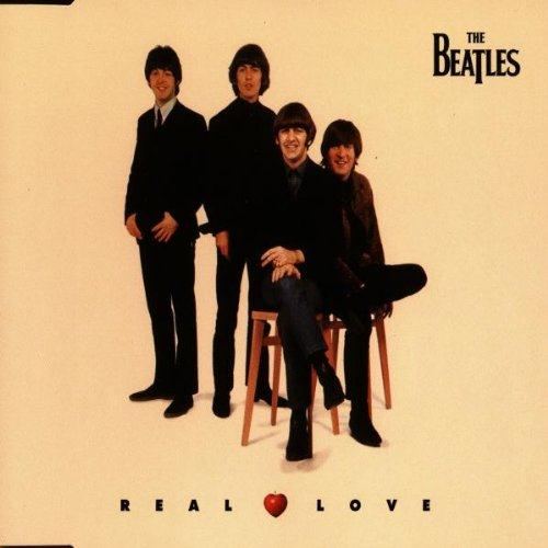 The Beatles, Real Love, Piano, Vocal & Guitar (Right-Hand Melody)
