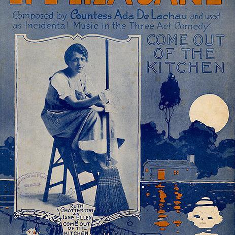 Countess Ada De Lachau, Li'l Liza Jane (Go Li'l Liza), Piano, Vocal & Guitar (Right-Hand Melody)
