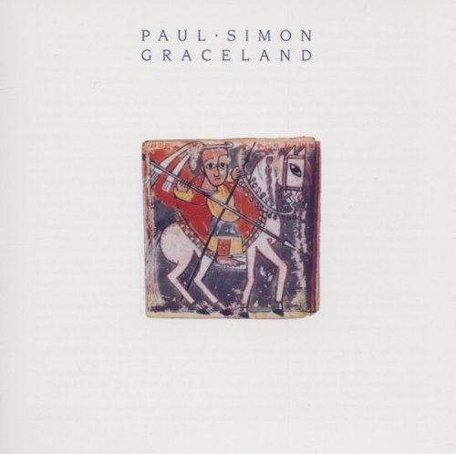 Paul Simon, Graceland, Piano, Vocal & Guitar (Right-Hand Melody)