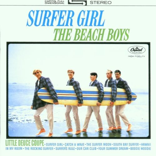The Beach Boys, In My Room, Piano, Vocal & Guitar (Right-Hand Melody)