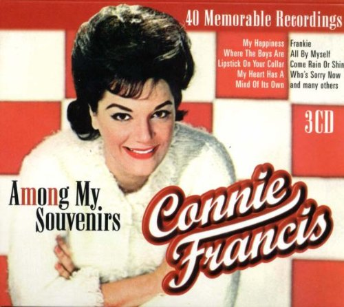 Connie Francis, Among My Souvenirs, Piano, Vocal & Guitar (Right-Hand Melody)