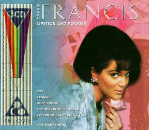 Connie Francis, Stupid Cupid, Piano, Vocal & Guitar (Right-Hand Melody)