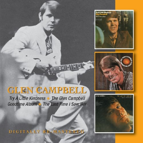Glen Campbell, Dream Baby (How Long Must I Dream), Piano, Vocal & Guitar (Right-Hand Melody)