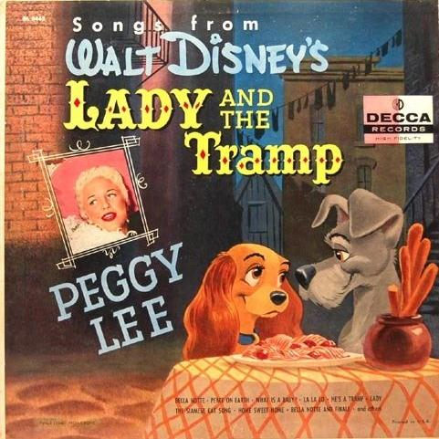 Peggy Lee, He's A Tramp, Piano, Vocal & Guitar (Right-Hand Melody)