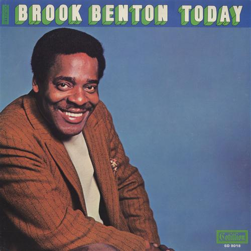 Brook Benton, A Rainy Night In Georgia, Piano, Vocal & Guitar (Right-Hand Melody)