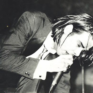 Nick Cave, Tupelo, Piano, Vocal & Guitar