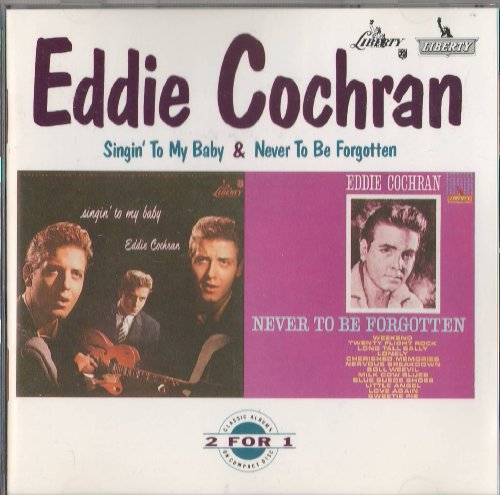 Eddie Cochran, Twenty Flight Rock, Piano, Vocal & Guitar (Right-Hand Melody)