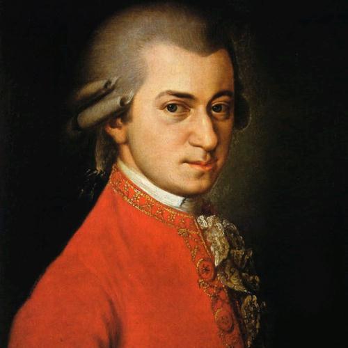 Wolfgang Amadeus Mozart, Slow Movement Theme from Violin & Piano Sonata in C, K296, Piano