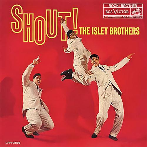 The Isley Brothers, Shout, Piano, Vocal & Guitar (Right-Hand Melody)