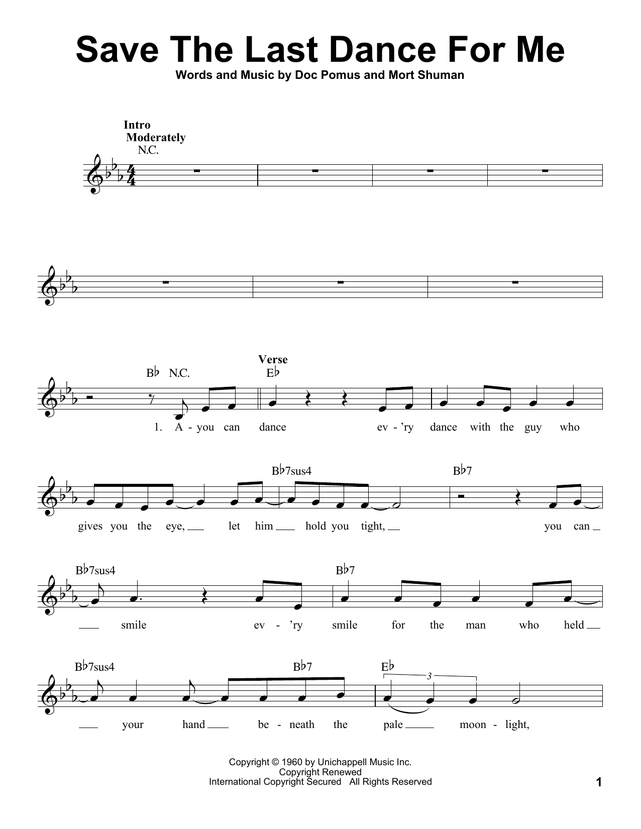 Michael Bubl Save The Last Dance For Me Sheet Music Notes Chords