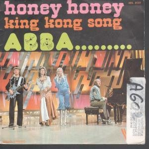 ABBA, Honey, Honey, Piano, Vocal & Guitar (Right-Hand Melody)