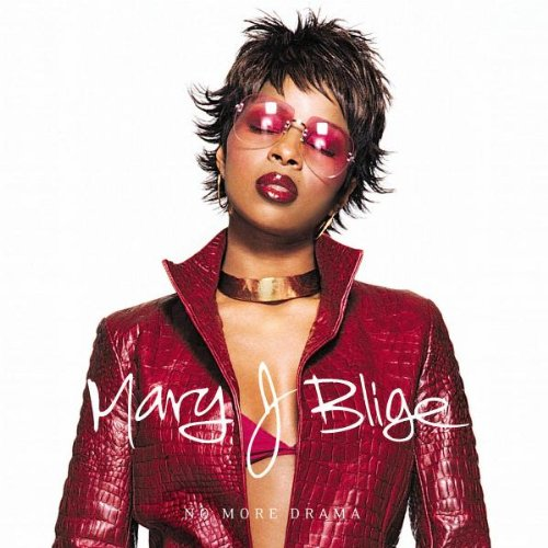 Mary J. Blige, No More Drama, Piano, Vocal & Guitar (Right-Hand Melody)