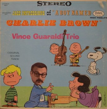 Vince Guaraldi, Blue Charlie Brown, Piano (Big Notes)